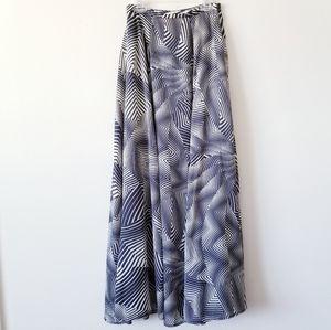 I. Madeline Printed Maxi Skirt